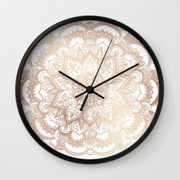 Mandala Gold Shine I Wall Clock