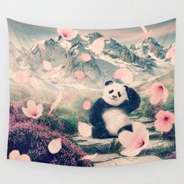 Baby Panda by GEN Z Wall Tapestry