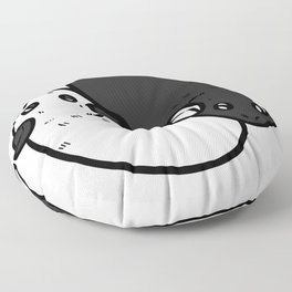 Hamster gift hamster wheel rodent hamster Floor Pillow