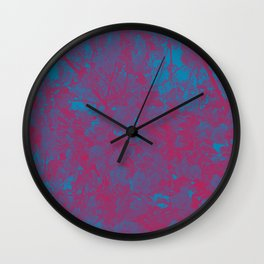 Sakura (Pink/Blue)  Wall Clock