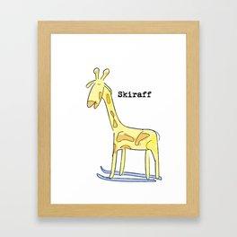 Skiraff Framed Art Print