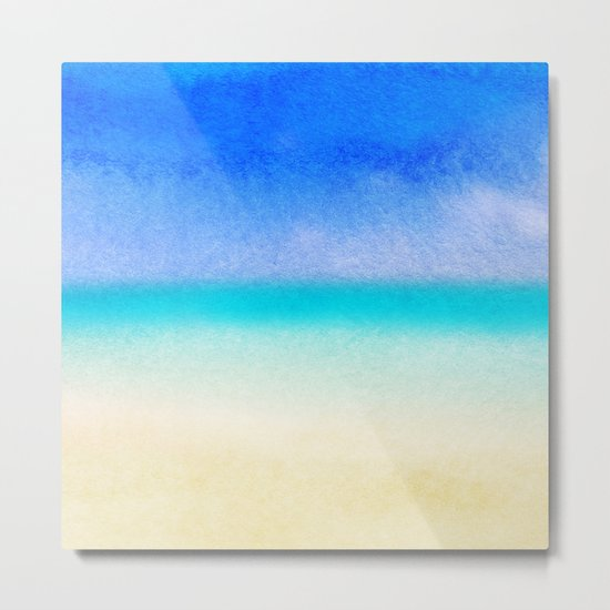 Tropical Sea #1 Metal Print