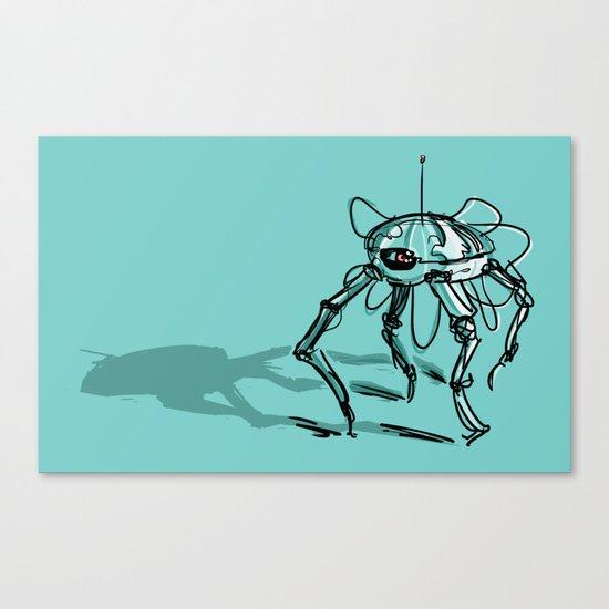 Eye Bot Canvas Print