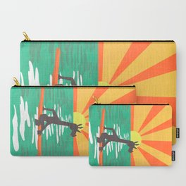Surf Unicorn Carry-All Pouch