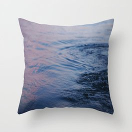 Thicker Than Water Throw Pillow