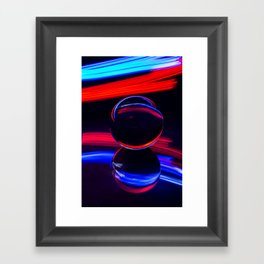 The Light Painter 4 Framed Art Print