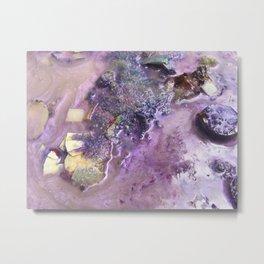 Galaxy Beach (Detail) Metal Print