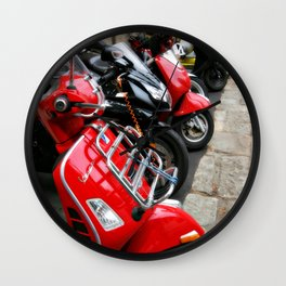 Scooters Wall Clock