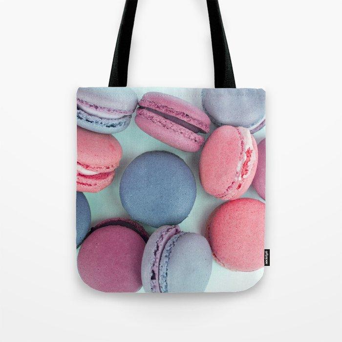 Berry Macarons Photograph Tote Bag