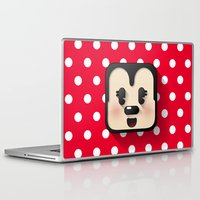 minnie mouse Laptop & iPad Skins featuring minnie mouse cutie by designoMatt
