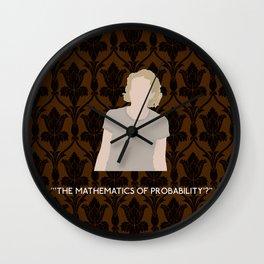 The Six Thatchers - Mary Watson Wall Clock