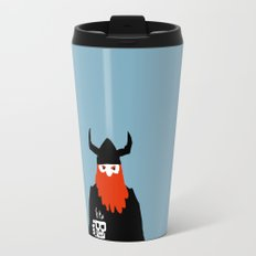 Viking and his morning coffee Travel Mug