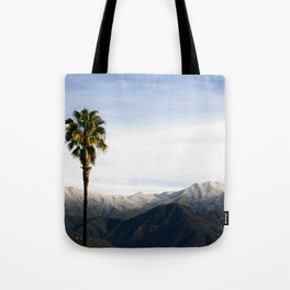 Southern California Snow Tote Bag