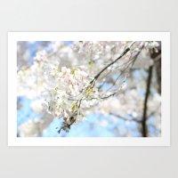 Blossoming Trees Art Print