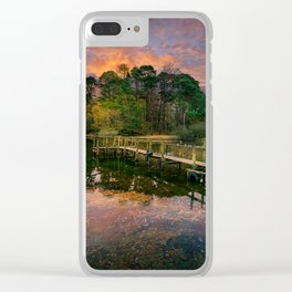 Lakeside Launch Clear iPhone Case