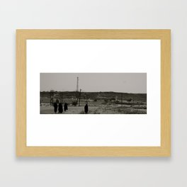 Muscat women Framed Art Print