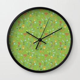 Hero's Inventory Wall Clock