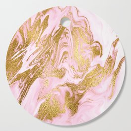 Rose Gold Mermaid Marble Cutting Board
