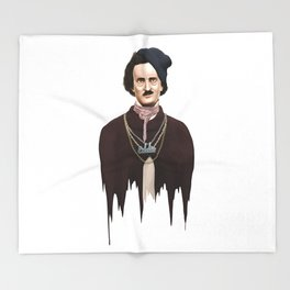 Eddie Poe Throw Blanket