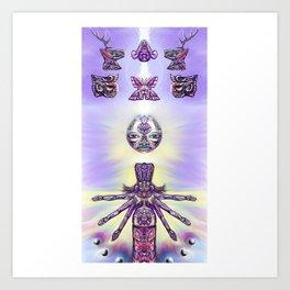 Ancestral Codex 3 Art Print
