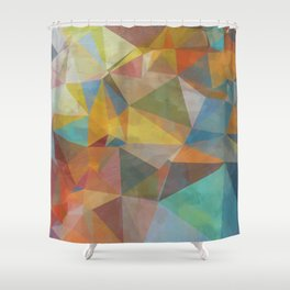 Geometric 1 Shower Curtain