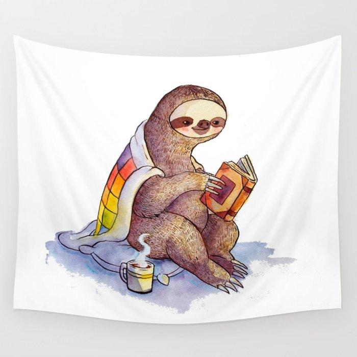Sloth Wall Tapestry