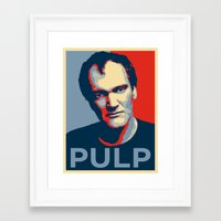 pulp Framed Art Prints featuring Pulp! by LilloKaRillo