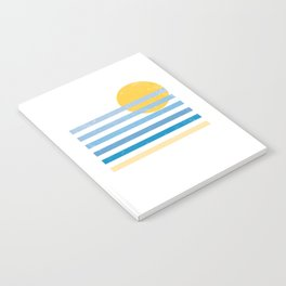 Sunset Ocean Notebook