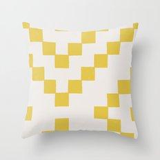 Tiles - in Dandelion Throw Pillow