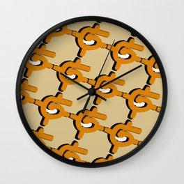 Links Wall Clock