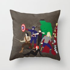 Prepare to Be Avenged Throw Pillow