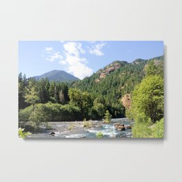 Elwha River, Olympic National Park, Washington Metal Print