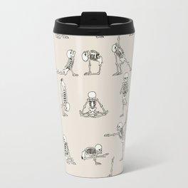 Skeleton Yoga Travel Mug