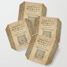 Shakespeare, Hamlet 1603 Coaster