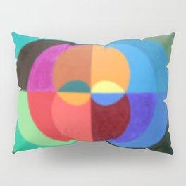Circles Abstract art Pillow Sham