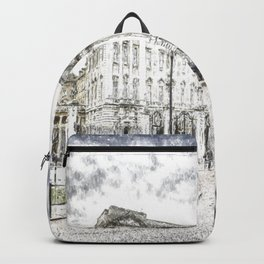Buckingham Palace Snow Backpack