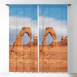 Delicate Arch 0415 - Arches National Park, Moab, Utah Blackout Curtain