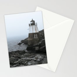 Castle Hill Lighthouse, Rhode Island Stationery Cards