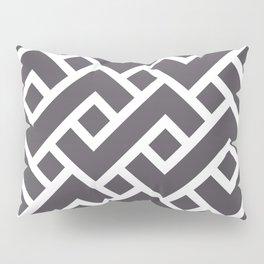 Monochrome Intricate Pattern Gamma Pillow Sham