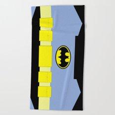 Bat Man - Superhero Beach Towel