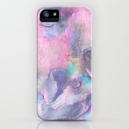 Soft Color Mermaid Style iPhone Case