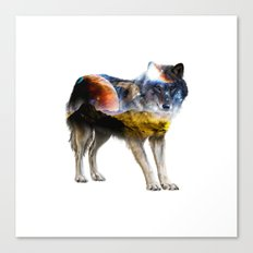 Chill Wolf ||| Canvas Print