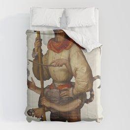 Multi-tasking timeboss Comforters