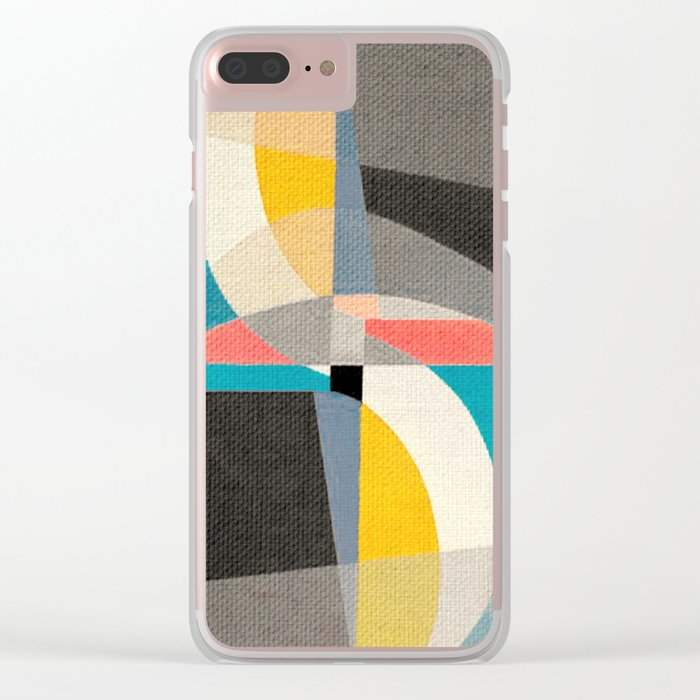 Sailing on the Canal Clear iPhone Case