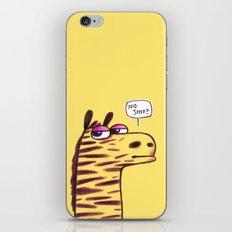 Purple Zebra :) iPhone & iPod Skin