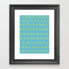 Bird PoP Framed Art Print
