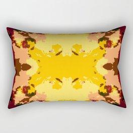 Ichiaru - Abstract Colorful Chic Batik Tie-Dye Style Butterfly Rectangular Pillow