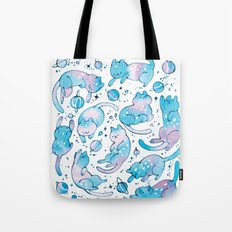Cats and playthings Tote Bag