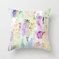 AppleJella Throw Pillow