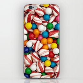 Peppermints and Gumballs iPhone Skin